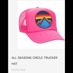 NWT All Seasons Circle Patch Hat Aviator Nation